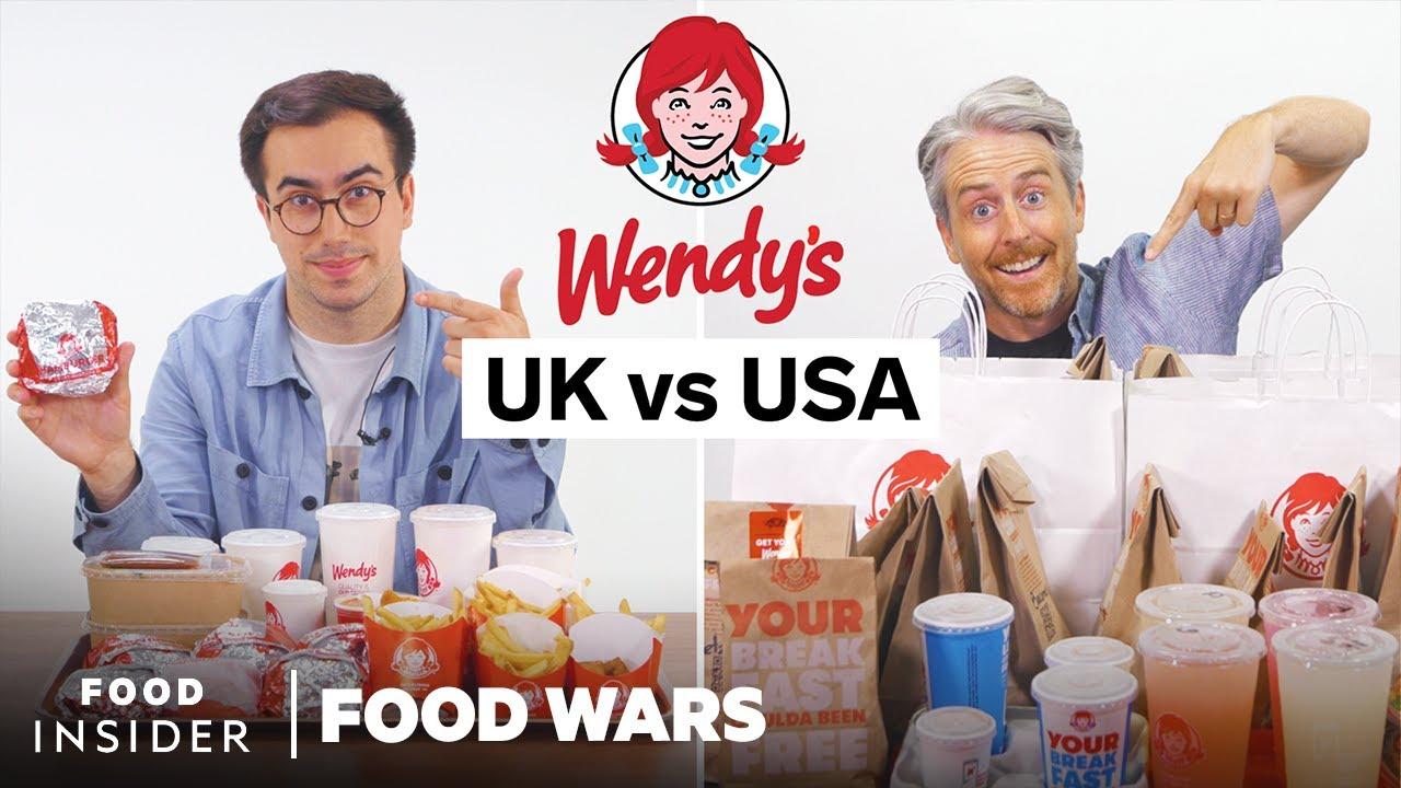 Download US vs UK Wendy's   Food Wars