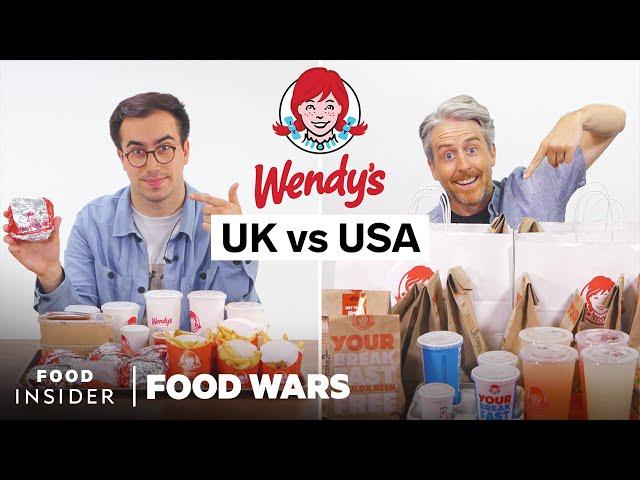 US vs UK Wendy's | Food Wars