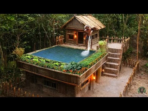 CS TRONG RỪNG | Xây dựng Hồ bơi Greatness trên Biệt thự King By Bamboo của dân chơi cực đẹp /