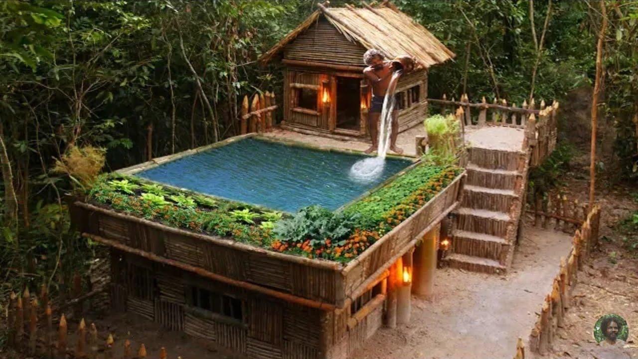 CS TRONG RỪNG   Xây dựng Hồ bơi Greatness trên Biệt thự King By Bamboo của dân chơi cực đẹp /