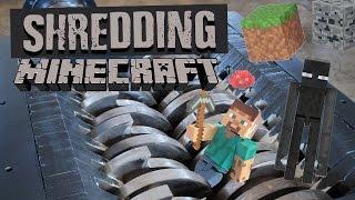 Shredding Minecraft - Shredding Stuff
