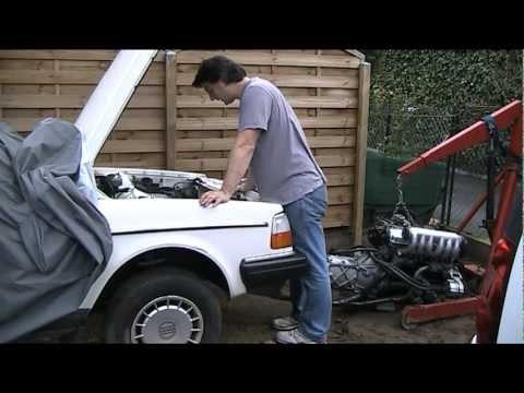 VOLVO Diesel engine installation 1/2