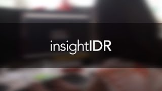 Rapid7 InsightIDR 3-Min Overview
