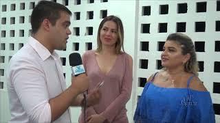 Íris Gadelha inauguração CRAS e Polo Alto Santo