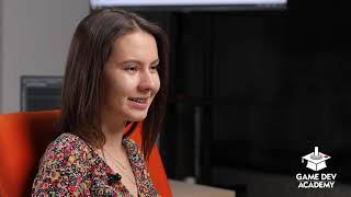 Alexandra povesteste despre experienta GameDev Academy!