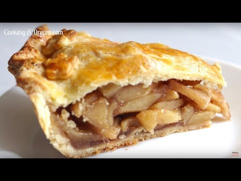 How To Make Apple Pie- from scratch/ Homemade apple Pie Crust and Pie Filling--Cooking A Dream