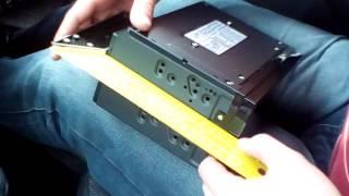Установка 2 DIN магнитолы на Лада Гранту.