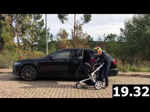 Car change - Audi RS6 to Quinny Mood - Filipe Albuquerque