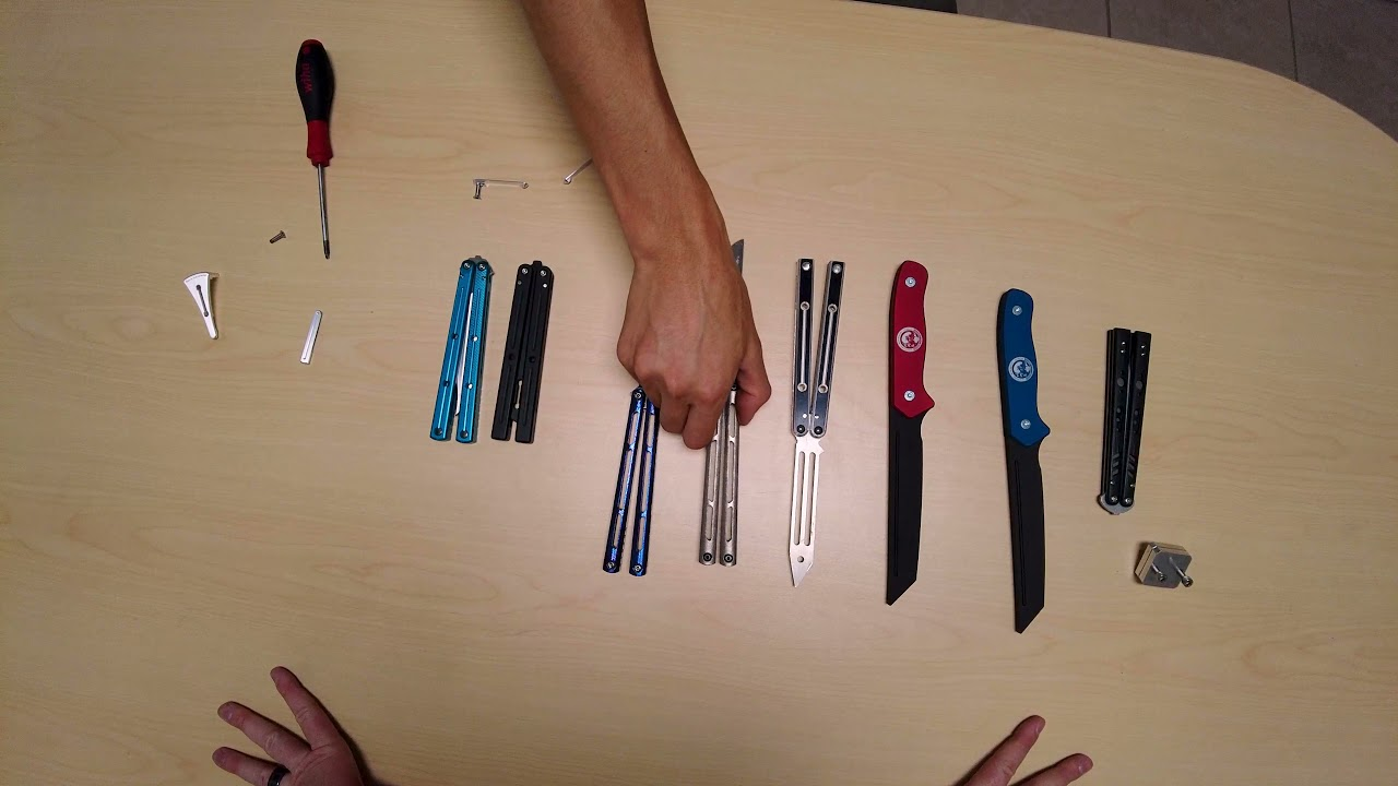 Download Amazing Rare Balisongs! Squidmaster Talks About his Collection