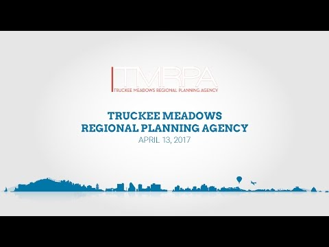 Truckee Meadows Regional Planning Agency | April 13, 2017