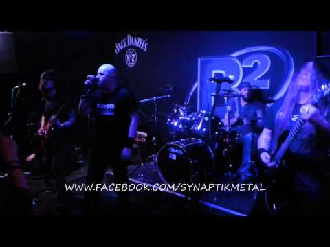 SYNAPTIK 'ALLIES' - LIVE AT B2 NORWICH, UK 6.12.12. MELODIC PROGRESSIVE THRASH
