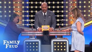 Uh Oh! Guess who you HIT ON when you were drunk? | Family Feud