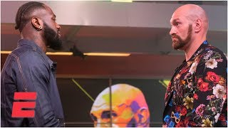 Deontay Wilder vs. Tyson Fury Press Conference Highlights - Jan. 25, 2020 | Boxing on ESPN