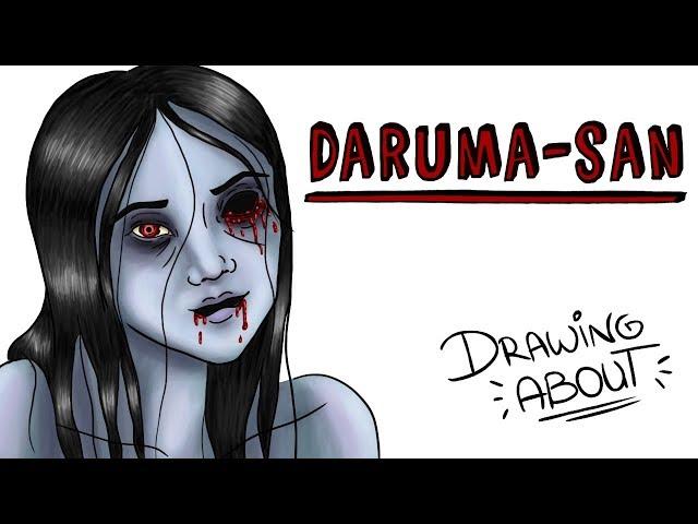 DARUMA-SAN EL RITUAL JAPONÉS | Draw My Life Miércoles de Terror
