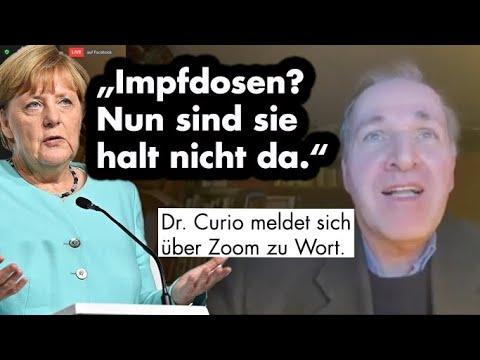 Dr. Curio zum Impfchaos und Merkels Neujahrsansprache (Zoom-Konferenz)