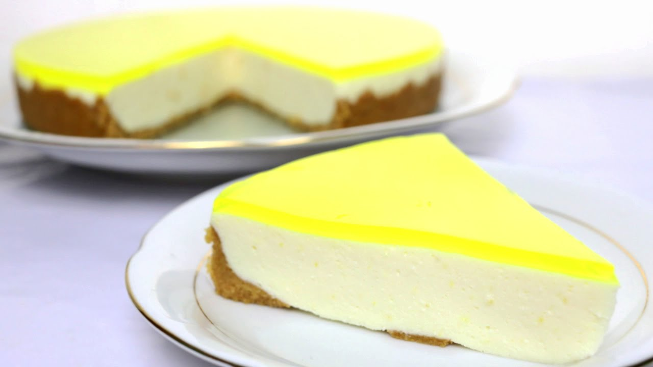 Resultado de imagen de tarta de limon sin queso