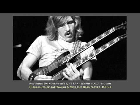 Joe Walsh on WMMS 1987 - BobUrbanVideo