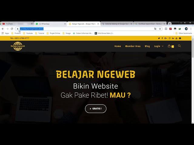 Cara Mendaftarkan Website ke Mesin Pencarian Google (No Voice)