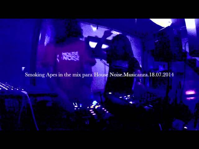VIDEO SMOKING APES (MUSICANZA)HOUSE NOISE