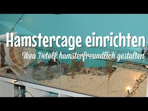 IKEA Hamstercage einrichten für Goldhamster❤️ | HappyPets