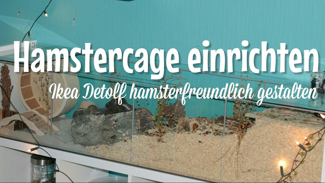 ikea hamstercage einrichten f r goldhamster happypets. Black Bedroom Furniture Sets. Home Design Ideas