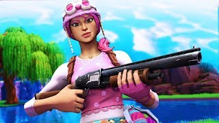 "🔴 NEW ""PASTEL"" SKIN GAMEPLAY! (Fortnite Battle Royale)"
