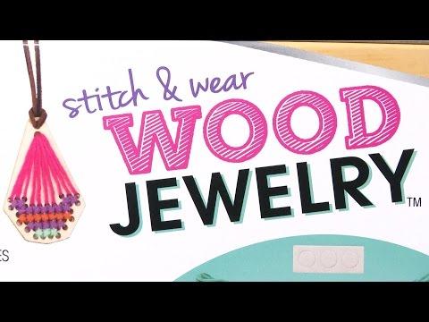 Stitch and Wear Wood Jewelry from Alex