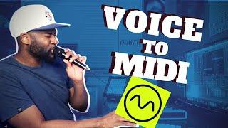 INSANE!!! CONVERT VOICE TO MIDI!! The Dubler Studio Kit!! REVIEW & DEMO. Vochlea Dubler Review