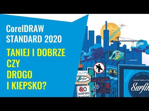 CorelDRAW Standard 2020. Recenzja. Ile wart jest nowy członek rodziny Corela?