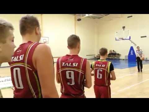 BBBL U16 GAME: Valmiera - Talsi