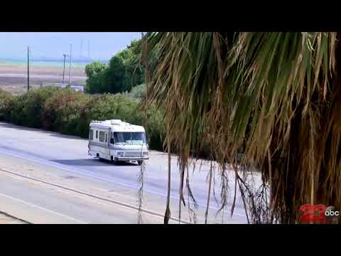 RV Chase through Kern County just south of Bakersfield