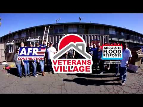 Veterans Village 2017 Container Build-Out - AFR Construction & Absolute Flood Response