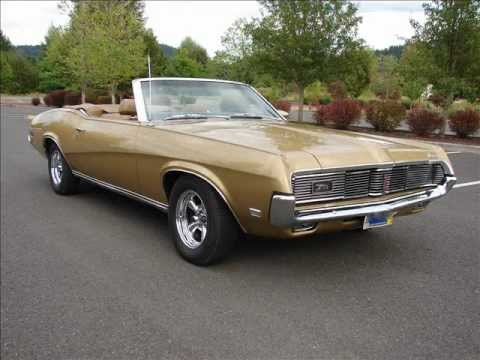 1969 Mercury Cougar Xr7 Convertible 15 850 Youtube