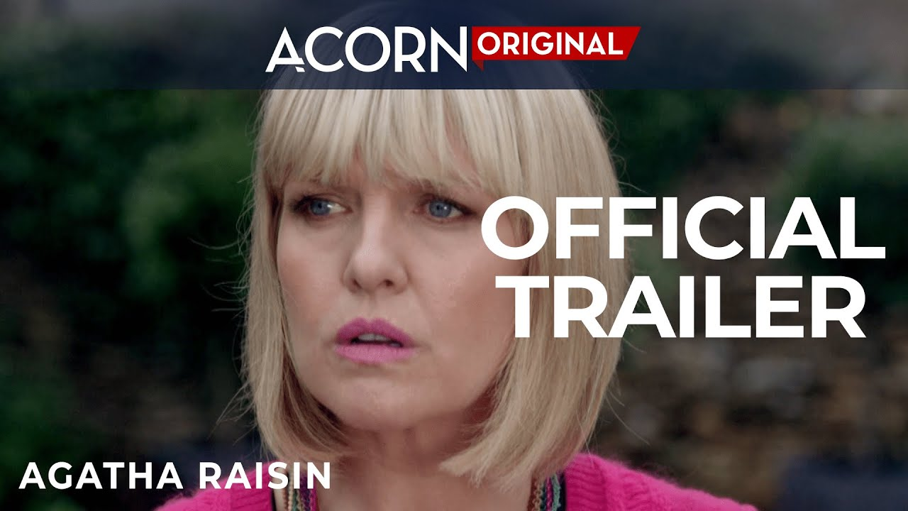 agatha raisin  Acorn TV Original | Agatha Raisin Trailer - YouTube