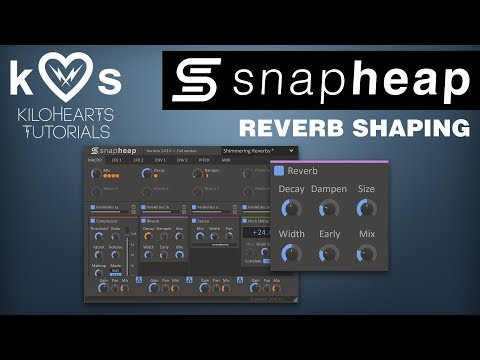 Reverb Shaping In Snap Heap