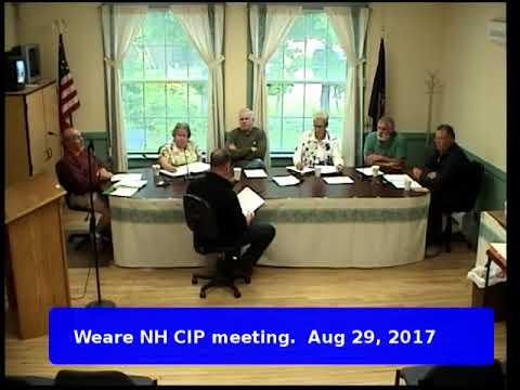 CIP meeting Aug 29, 2017