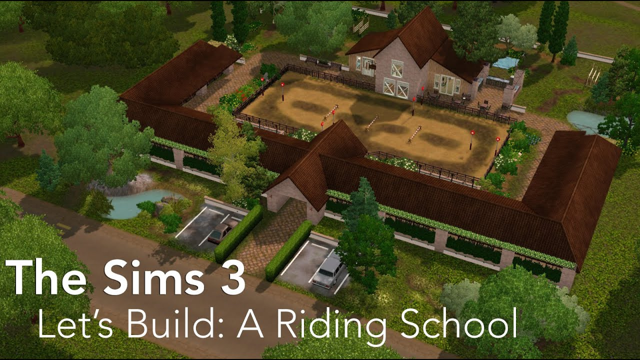 How To Build Stables On Sims  Pets