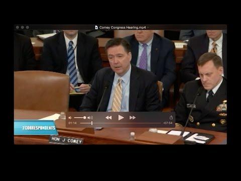 Comey Congress Hearing