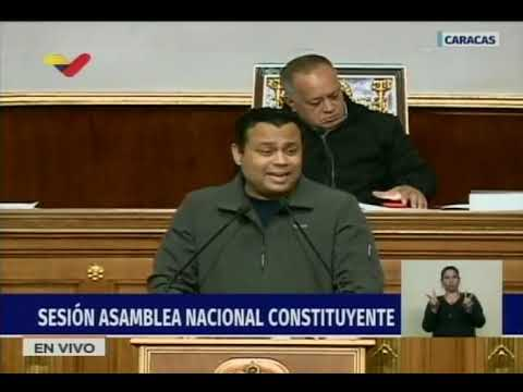 Asamblea Nacional Constituyente, sesión del 2 octubre 2018