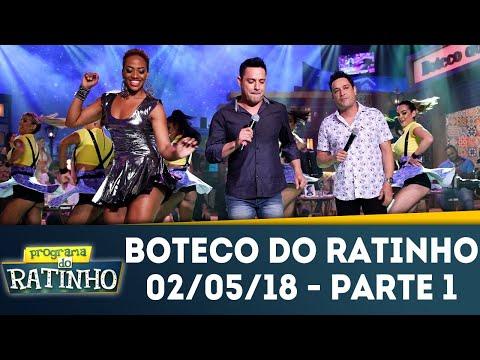 Boteco Do Ratinho - Parte 1 | Programa Do Ratinho (02/05/18)