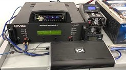 NVX VAD27001 Amplifier Dyno Video 1-ohm stable car amp! Exceeds power!