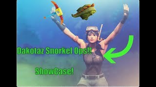 Fortnite Battle Royale | SNORKEL OPS SKIN! (TSM Dakotaz Style) | Showcase!!