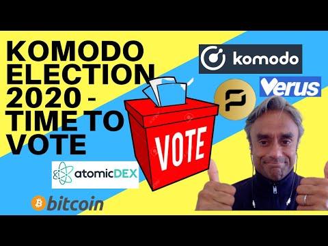 KOMODO NOTARY NODES ELECTION – TIME TO VOTE!!