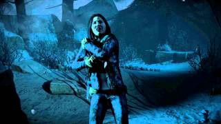 Until Dawn Emily Escaping from a Wendigo