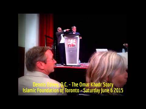HiMY SYeD -- Dennis Edney, The Omar Khadr Story, Islamic Foundation of Toronto, Saturday June 6 2015