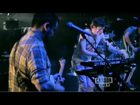 """WALK THE MOON - """"Tightrope"""" On Last Call With Carson Daly 2/15/12"""