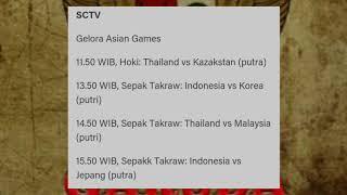 Download Video Jadwal asian games hari ini MP3 3GP MP4
