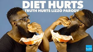 DIET HURTS, LIZZO TRUTH HURTS PARODY Thanks for watching! Hit the thumbs up button and subscribe to show your support! Also share this video to family ...