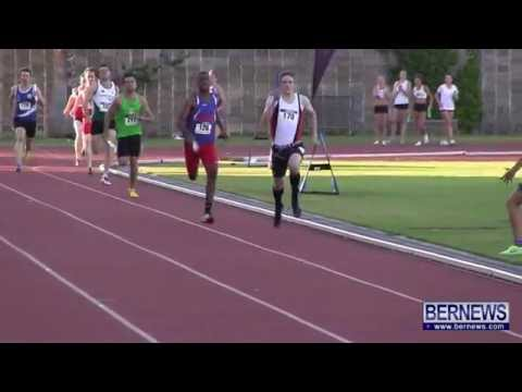 Men's 4x400 Relay Finals At NatWest Island Games, July 19 2013