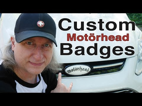 How to 3D Print 𝕸𝖔𝖙ö𝖗𝖍𝖊𝖆𝖉 vehicle emblem badge for your car: prime sand and paint!